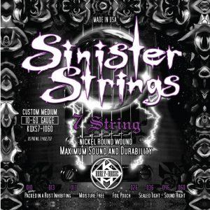 Фото 13 - KERLY KQXS7-1060 Sinister 7 Strings Nickel Plated Steel Tempered струны для 7-струнной электрогитары.