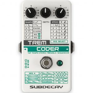 Фото 3 - Subdecay TremCoder Tremolo/Sequencer.
