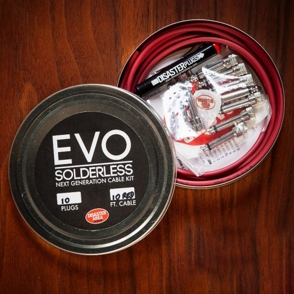 Фото 5 - Disaster Area Designs EVO Solderless Cable 1010 Kit.