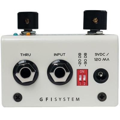 Фото 3 - GFI System Cabzeus Mono Speaker Simulator + DI Box.