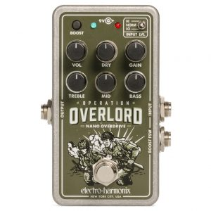 Фото 9 - Electro-Harmonix (EHX) Operation Overlord Overdrive Nano.