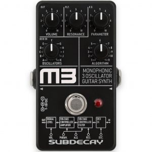 Фото 4 - Subdecay M3 3 Oscillator Monophonic Guitar Synthesizer.