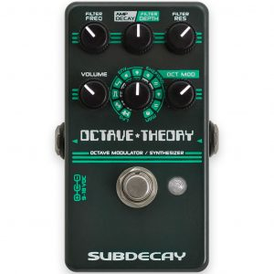 Фото 8 - Subdecay Octave Theory Octave Modulator / Synthesizer.