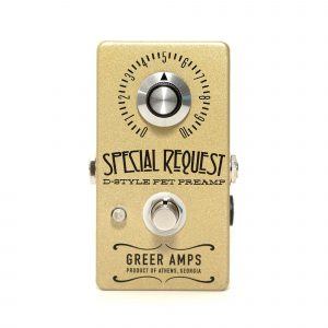 Фото 6 - Greer Amps Special Request D-Style FET Preamp.