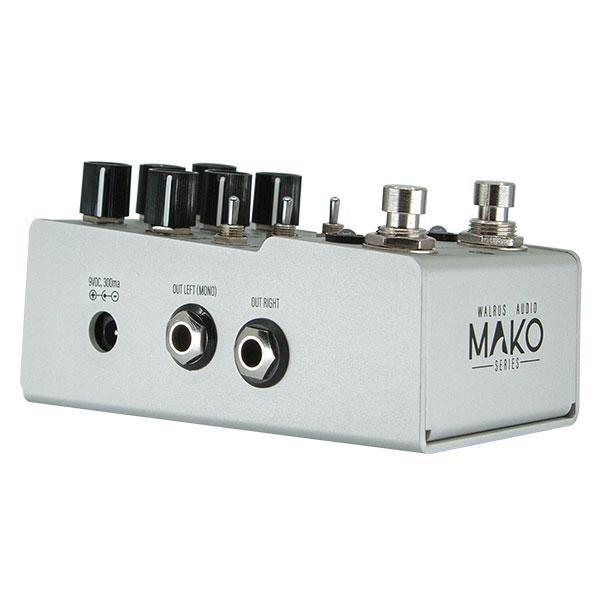 Фото 6 - Walrus Audio MAKO Series D1 High-Fidelity Stereo Delay.