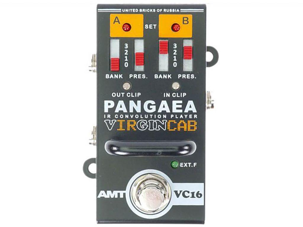 Фото 2 - AMT PANGAEA VC-16 Virgincab IR-Кабинет Эмулятор.