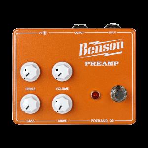 Фото 3 - Benson Amps Preamp Orange Custom Overdrive/Distortion.