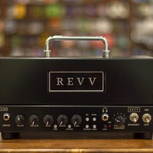 Фото 3 - Revv G20 High Gain Tube Head w/ Built-in Reactive Load - Black.
