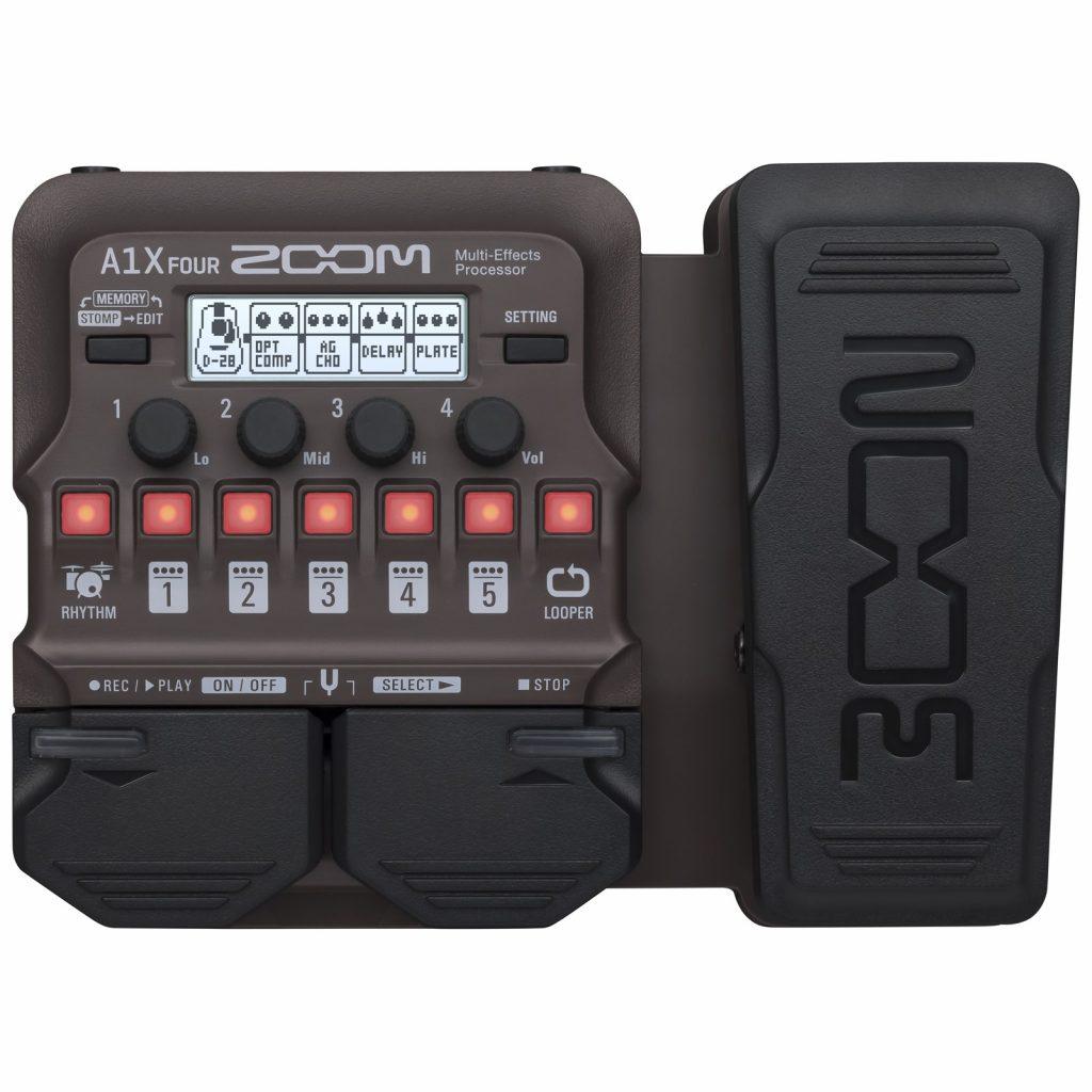 Фото 6 - Zoom A1X FOUR процессор эффектов для струнных и духовых акустических инструментов.