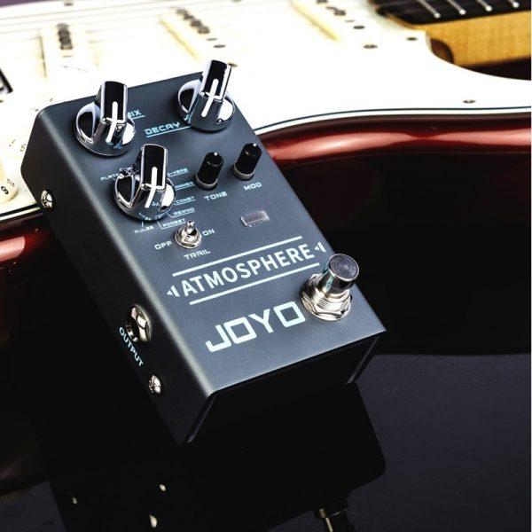 Фото 10 - Joyo R-14 Atmosphere Reverb гитарная педаль эффектов.