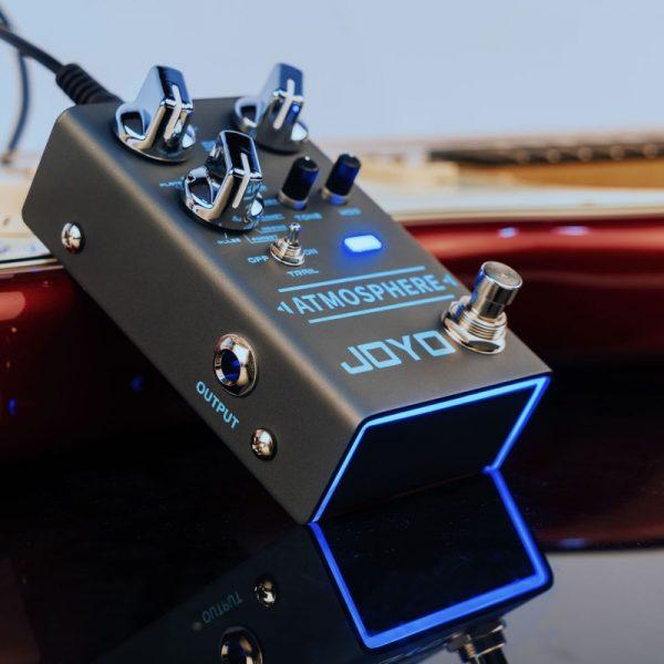 Фото 9 - Joyo R-14 Atmosphere Reverb гитарная педаль эффектов.