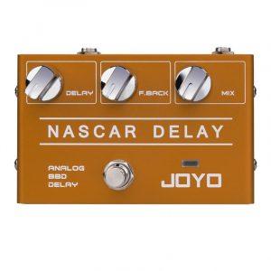 Фото 11 - Joyo R-10 Nascar BBD Delay гитарная педаль эффектов.