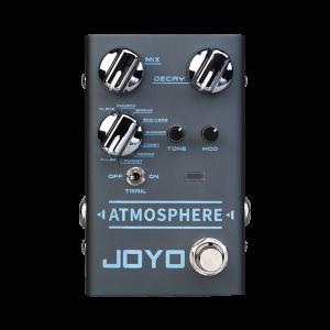 Фото 23 - Joyo R-14 Atmosphere Reverb гитарная педаль эффектов.