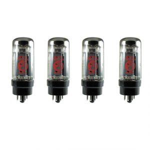 Фото 10 - Electro-Harmonix (EHX) 6L6EH-4 Комплект из 4-х подобранных вакуумных ламп.