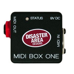 "Фото 13 - Disaster Area Designs MIDI Box One MIDI to 1/4"" Converter."