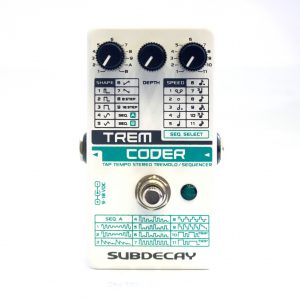 Фото 2 - Subdecay TremCoder Tremolo/Sequencer (used).