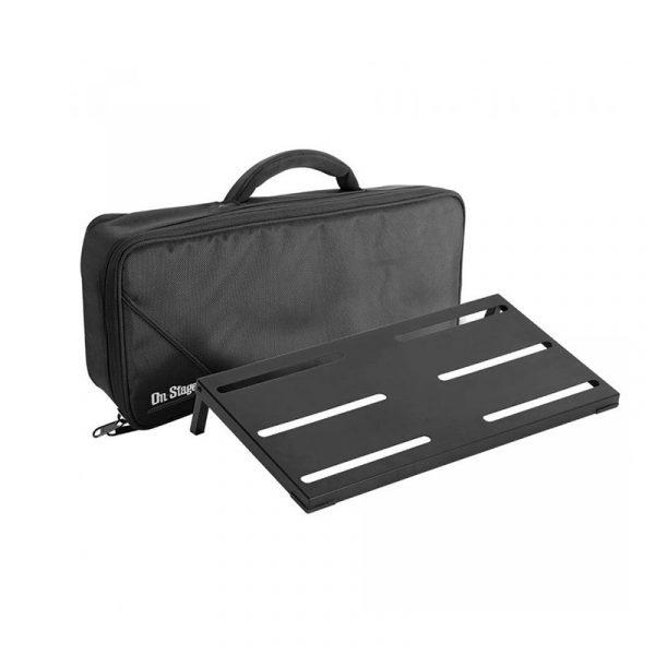 Фото 1 - OnStage GPB4000 Guitar/Keyboard Pedal Board w/ Gig Bag.