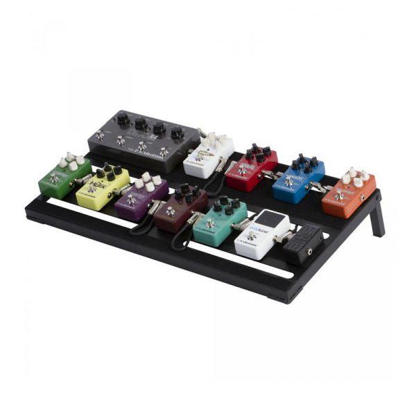Фото 2 - OnStage GPB4000 Guitar/Keyboard Pedal Board w/ Gig Bag.