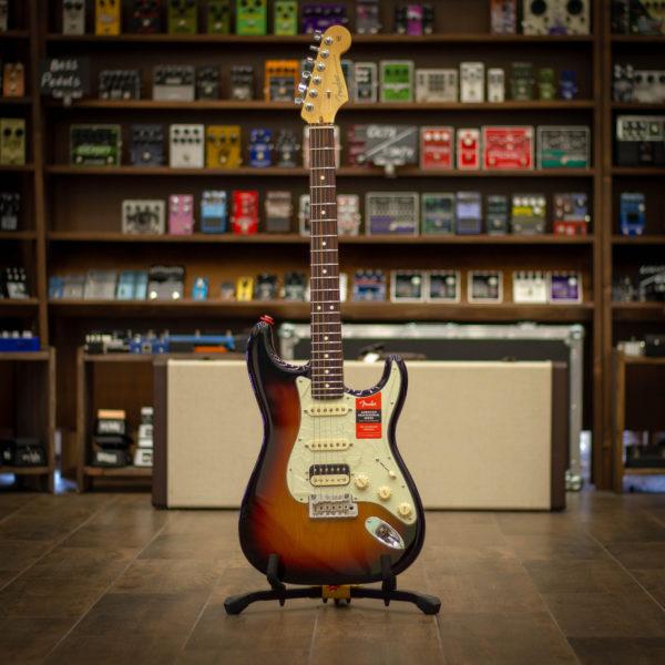 Фото 1 - Fender AM PRO Strat HSS Shaw RW 3TS (used).