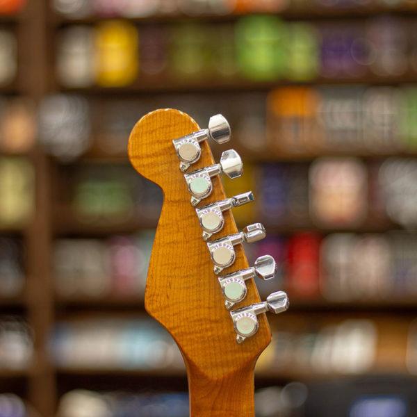 Фото 6 - R. Grishin Custom Stratocaster Surf Green.