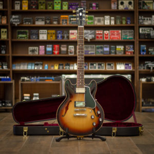 Фото 20 - Gibson ES-339 Custom Shop Antique Vintage Sunburst 2011 (used).