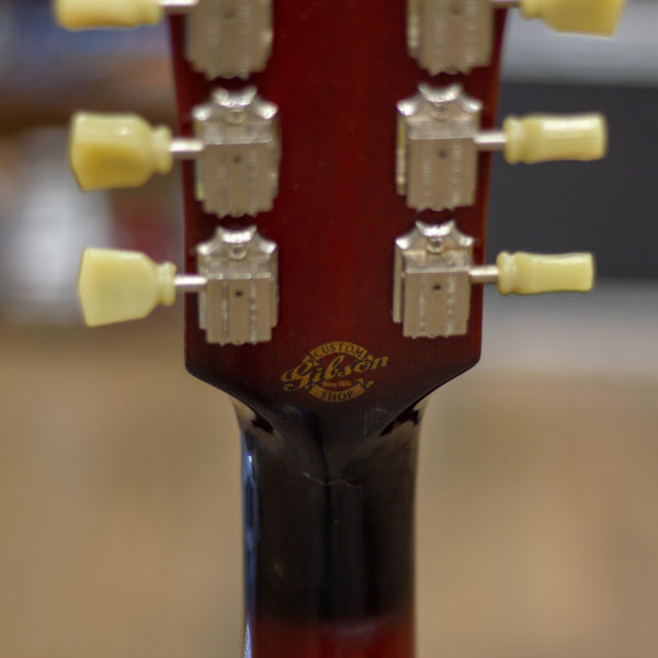 Фото 9 - Gibson ES-339 Custom Shop Antique Vintage Sunburst 2011 (used).