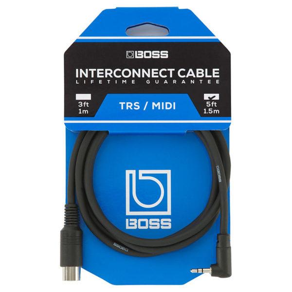 Фото 1 - TRS/Midi-кабель Boss BMIDI-5-35 - 1,5 м.