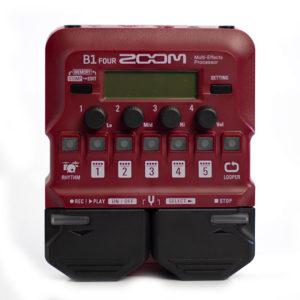 Фото 2 - ZOOM B1 Four Bass Processor (used).