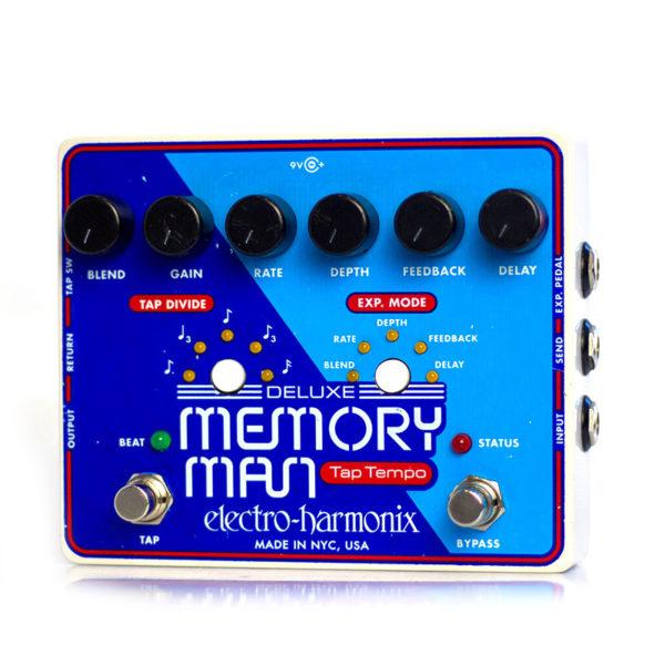 Фото 2 - Electro-Harmonix (EHX) Deluxe Memory Man Analog Delay with Panasonic MN3005 Chip (used).