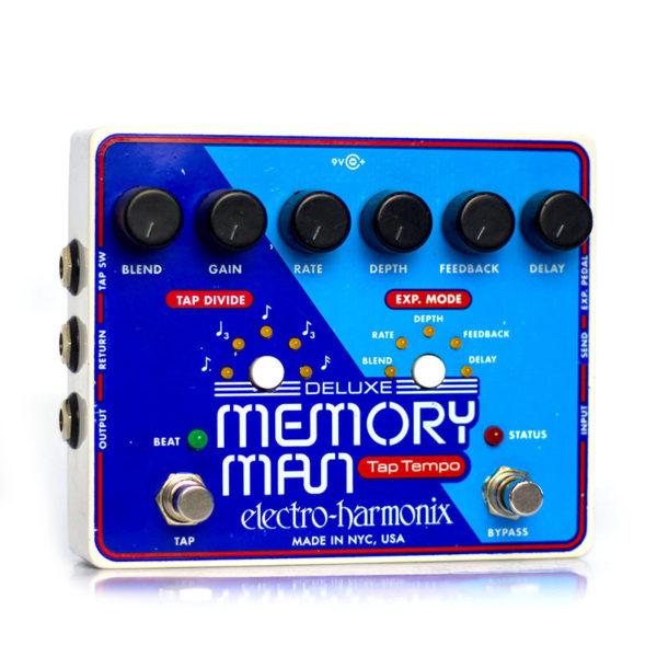 Фото 3 - Electro-Harmonix (EHX) Deluxe Memory Man Analog Delay with Panasonic MN3005 Chip (used).
