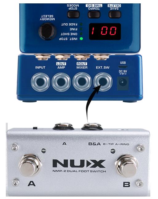 Фото 8 - NUX NDL-5 JTC Drum & Loop Pro Looper.