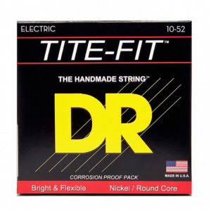 Фото 2 - DR Strings 10-52 Tite-Fit BT-10 струны для электрогитары.