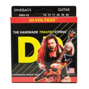 Фото 3 - DR Strings 10-46 Hi-Voltage DBG-10 струны для электрогитары.