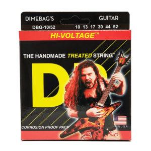 Фото 4 - DR Strings 10-52 Hi-Voltage DBG-10/52 струны для электрогитары.