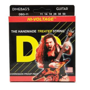 Фото 5 - DR Strings 11-50 Hi-Voltage DBG-11 струны для электрогитары.