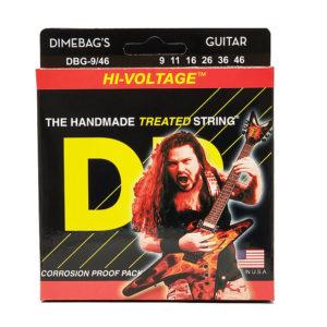 Фото 6 - DR Strings 9-46 Hi-Voltage DBG-9/46 струны для электрогитары.