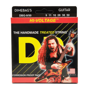 Фото 8 - DR Strings 9-50 Hi-Voltage DBG-9/50 струны для электрогитары.