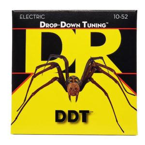 Фото 7 - DR Strings 10-52 Drop Down Tuning DDT-10/52 струны для электрогитары.
