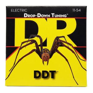 Фото 10 - DR Strings 11-54 Drop Down Tuning DDT-11 струны для электрогитары.