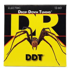 Фото 11 - DR Strings 12-60 Drop Down Tuning DDT-12 струны для электрогитары.