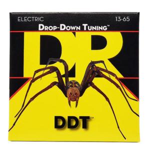 Фото 12 - DR Strings 13-65 Drop Down Tuning DDT-13 струны для электрогитары.