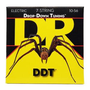 Фото 13 - DR Strings 10-56 Drop Down Tuning DDT7-10 струны для электрогитары.