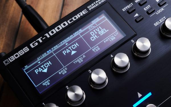 Фото 9 - Boss GT-1000CORE гитарный процессор.