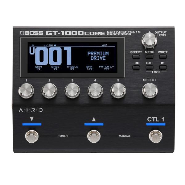 Фото 1 - Boss GT-1000CORE гитарный процессор.