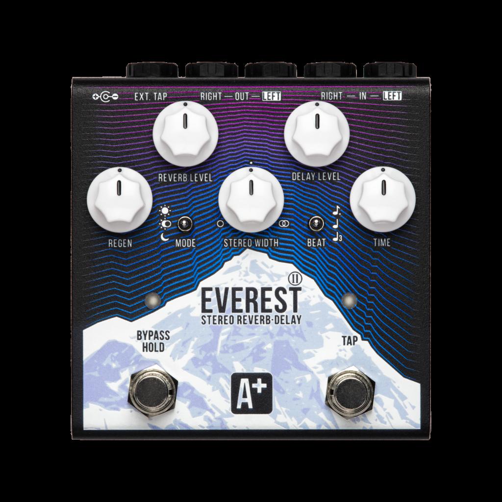 Фото 15 - A+ (Shift line) Everest II Stereo Reverb + Delay.