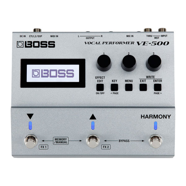 Фото 1 - Boss VE-500 Vocal Performer.