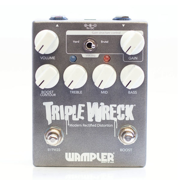 Фото 1 - Wampler Pedals Triple Wreck Distortion (used).