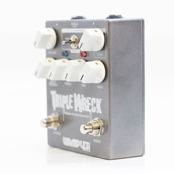 Фото 2 - Wampler Pedals Triple Wreck Distortion (used).