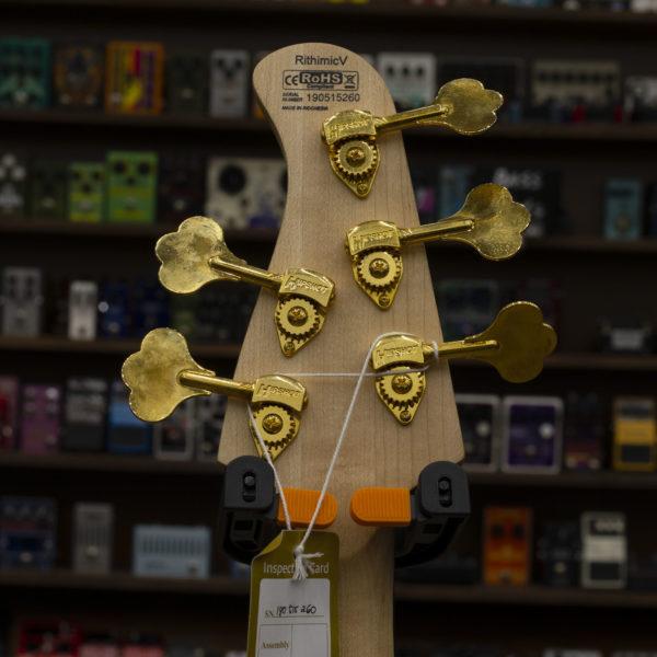 Фото 6 - Cort Rithmic V Natural 5-ти струнная бас-гитара.