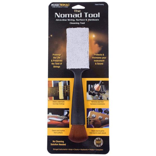 Фото 1 - MusicNomad MN205 Nomad Tool Инструмент для чистки гитарных струн, поверхности гитары и фурнитуры.